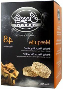 Bradley Technologies Smoker Bisquettes 48 Pack Mesquite Free