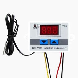 Digital Temperature,LtrottedJ 220V Digital LED Temperature