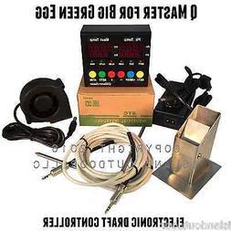 Q Master Temperature Controller Big Green Egg Fan Med Lg BGE