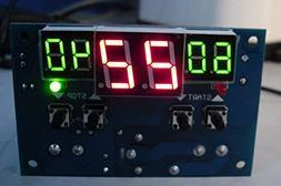 Digital Temperature,LtrottedJ LCD 12V Digital LED Display