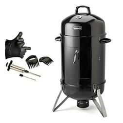 """Cuisinart Vertical 16""""  Smoker Bundle with 6-Pc Kit"""
