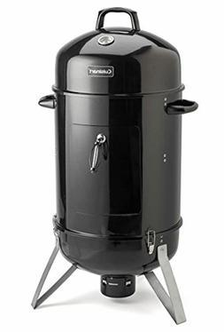 "Cuisinart Vertical 18"" Charcoal Smoker BBQ Grilling Outdoor"