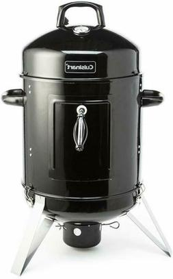 Vertical Charcoal Smoker BBQ Barbecue Grill Grilling Outdoor