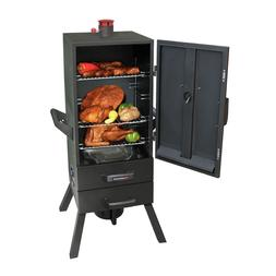 Vertical Charcoal Smoker BBQ Meat Outdoor Grill Cooker Patio