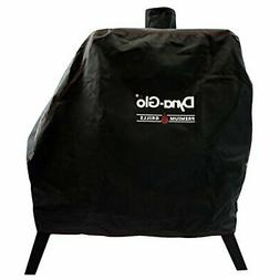 Vertical Offset Charcoal Smoker Cover Fits Dyna Glo Smoker M