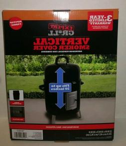 Expert Grill Vertical Smoker Cover Durable Ripstop Fabric 22