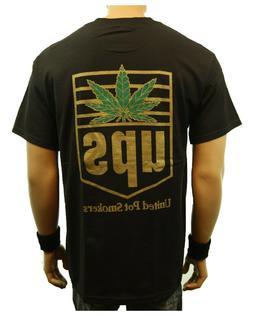 Weed Marijuana United Pot Smoker Printed Graphic T-Shirts Fa