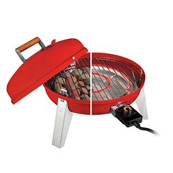 Americana the Wherever Grill Dual Fuel, Red