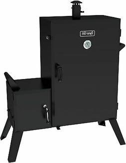 Wide Body Charcoal Smoker Vertical Offset Outdoor Cooker Bar