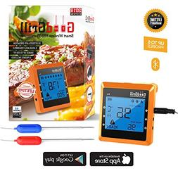 GoodGrill Wireless Meat Thermometer System – Bluetooth Mea