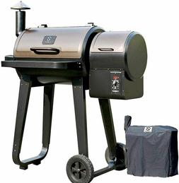 Z GRILLS 2020 New Wood Pellet Grills Smoker with 8-in-1 Digi