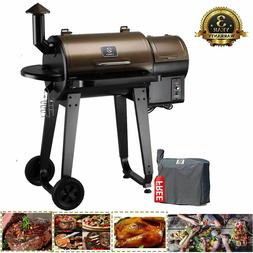 Z GRILLS Wood-Pellet Grill and Smokey 2019 New Outdoor Backy