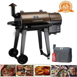 Z GRILLS Wood Pellet Grill and Smoker Ourdoor with Update Pi