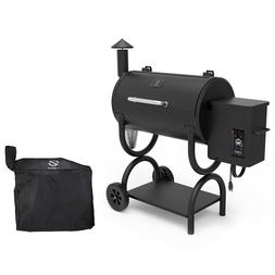 Z Grills Wood Pellet Grill BBQ Smoker Digital Control with C
