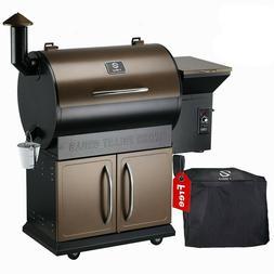 Z GRILLS Wood Pellet Grill BBQ Smoker Digital Control Free C