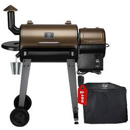 Z GRILLS ZPG-450A Wood Pellet Grill BBQ Smoker Digital Contr