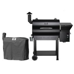 Z GRILLS Wood Pellet Grills & Smoker 700sq in 6-1 BBQ Grill
