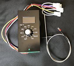 Thermostat Kit Digital Wood Pellet Smoker Grill Control Boar