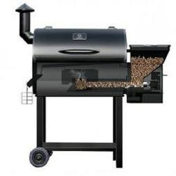 Z-grills Wood Pellet BBQ Grill and Smoker W/Digital Temperat