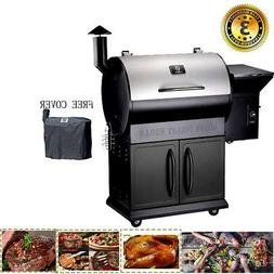 Z GRILLS Wood Pellet Grill and Smoker Style Camp Chef Meat P