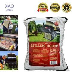 ZGRILLS Barbeque BBQ Pellets 20 LB 100% Hardwood Natural OAK