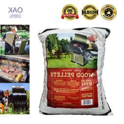 ZGRILLS Barbeque BBQ Pellets 20 LB 100% Hardwood Natural OAK