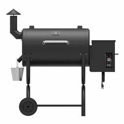 Z Grills ZPG-550B 7-in-1 Barbecue Wood Fire Pellet Smart Smo