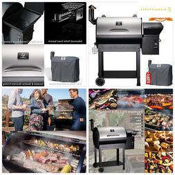 Z GRILLS ZPG-7002E 2019 New Model Wood Pellet Grill Smoker,