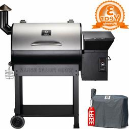 Z Grills Zpg-7002E 2019 New Model Wood Pellet Grill  Smoker,