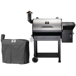 Z GRILLS ZPG-7002E Wood Pellet Grill BBQ Smoker Digital Cont