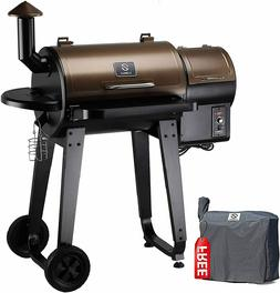 Z Grills ZPG-450A 2018 Upgrade Model, Wood Pellet Smoker, 7